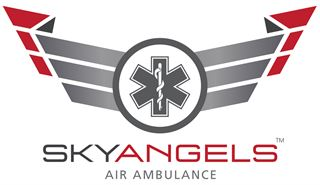 SkyAngels Air Ambulance logo