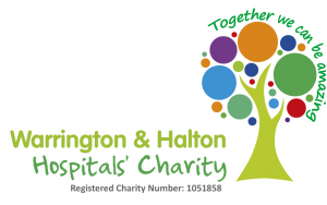 Warrington and Halton Hospitals' Charity logo